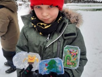 Priešmokyklinukų žiemos kūrybinės dirbtuvės